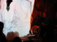 Daniela ließ die Zuschauer in die orientalische Märchenwelt eintauchen und die stimmungsvoll gezeichneten Bilder